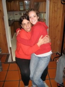 Nora (house-mom) and I, 2008.